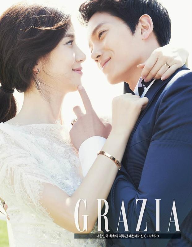 Mợ út tài phiệt của Mine Lee Bo Young: Hoa hậu bị gán mác tiểu tam, cự tuyệt tài tử Ji Sung rồi lại cùng chàng có kết đẹp như cổ tích - Ảnh 12.