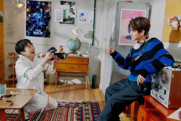 EXO tung ảnh comeback tự chụp cho nhau: Visual lão hóa ngược, tưởng ngầu mà hóa ra cute xỉu - Ảnh 20.