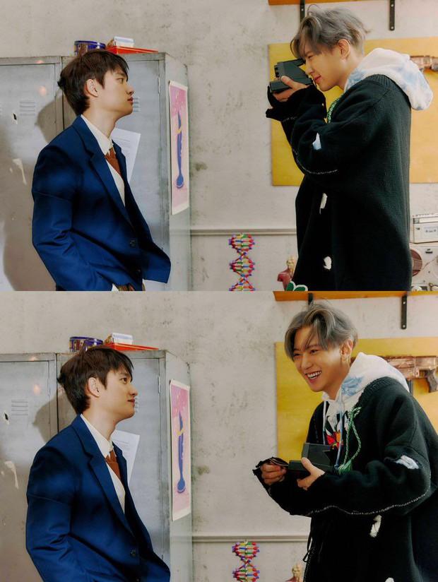 EXO tung ảnh comeback tự chụp cho nhau: Visual lão hóa ngược, tưởng ngầu mà hóa ra cute xỉu - Ảnh 23.