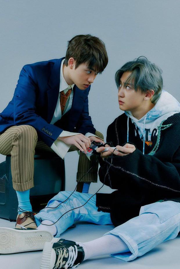 EXO tung ảnh comeback tự chụp cho nhau: Visual lão hóa ngược, tưởng ngầu mà hóa ra cute xỉu - Ảnh 25.
