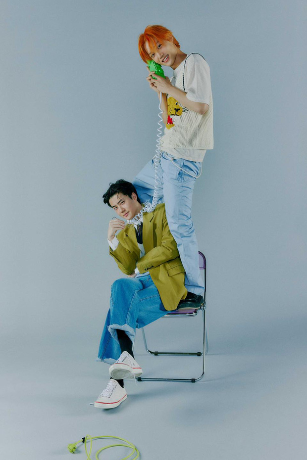 EXO tung ảnh comeback tự chụp cho nhau: Visual lão hóa ngược, tưởng ngầu mà hóa ra cute xỉu - Ảnh 27.