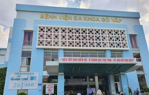 BV quận Gò Vấp tạm ngưng hoạt động khám bệnh ngoại trú vì có ca dương tính SARS-CoV-2 từng đến khám - Ảnh 1.