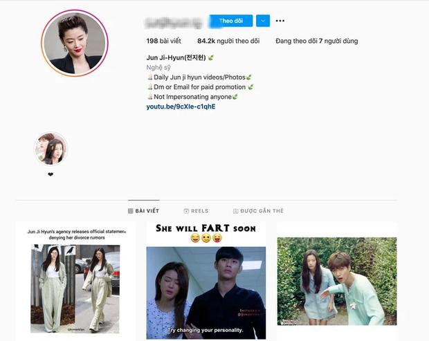 Sau thông tin ly hôn chấn động, tài khoản Instagram Jeon Ji Hyun mọc nhiều như nấm, nhưng sự thật lại khá bất ngờ! - Ảnh 3.