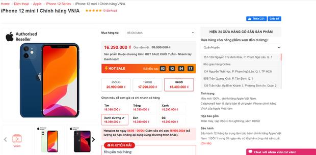 Loạt iPhone chính hãng đang được giảm giá cực mạnh tại các hệ thống bán lẻ - Ảnh 2.