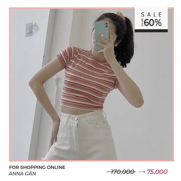 Loạt shop thời trang đang sale hấp dẫn quá: Toàn đồ xinh xẻo trendy giảm đến 60%, mau shopping chị em ơi - Ảnh 1.