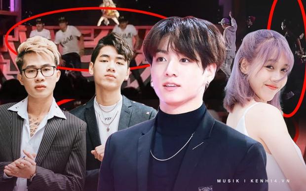 """Quá khứ """"nhảy phụ họa"""" ít ai biết: Hậu Hoàng làm vũ công cho Da Lab, """"gà"""" K-ICM phụ trợ cho Jack còn BTS từng làm nền cho ca sĩ ảo - Ảnh 1."""