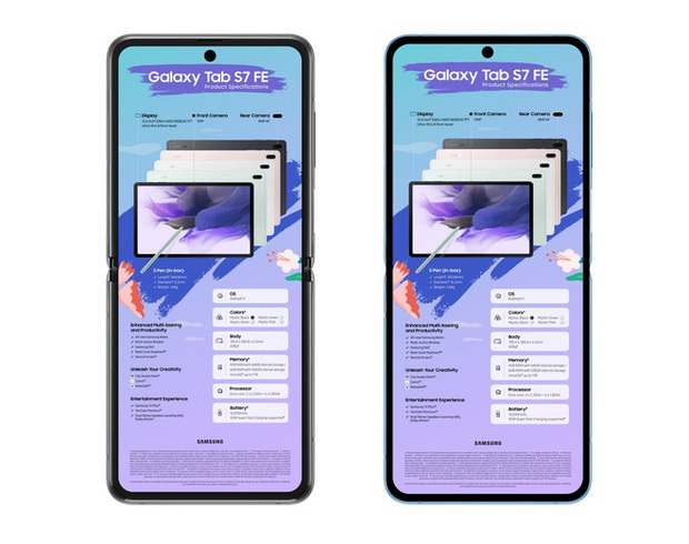Galaxy Z Flip3 sẽ có viền màn hình siêu mỏng cánh - Ảnh 1.