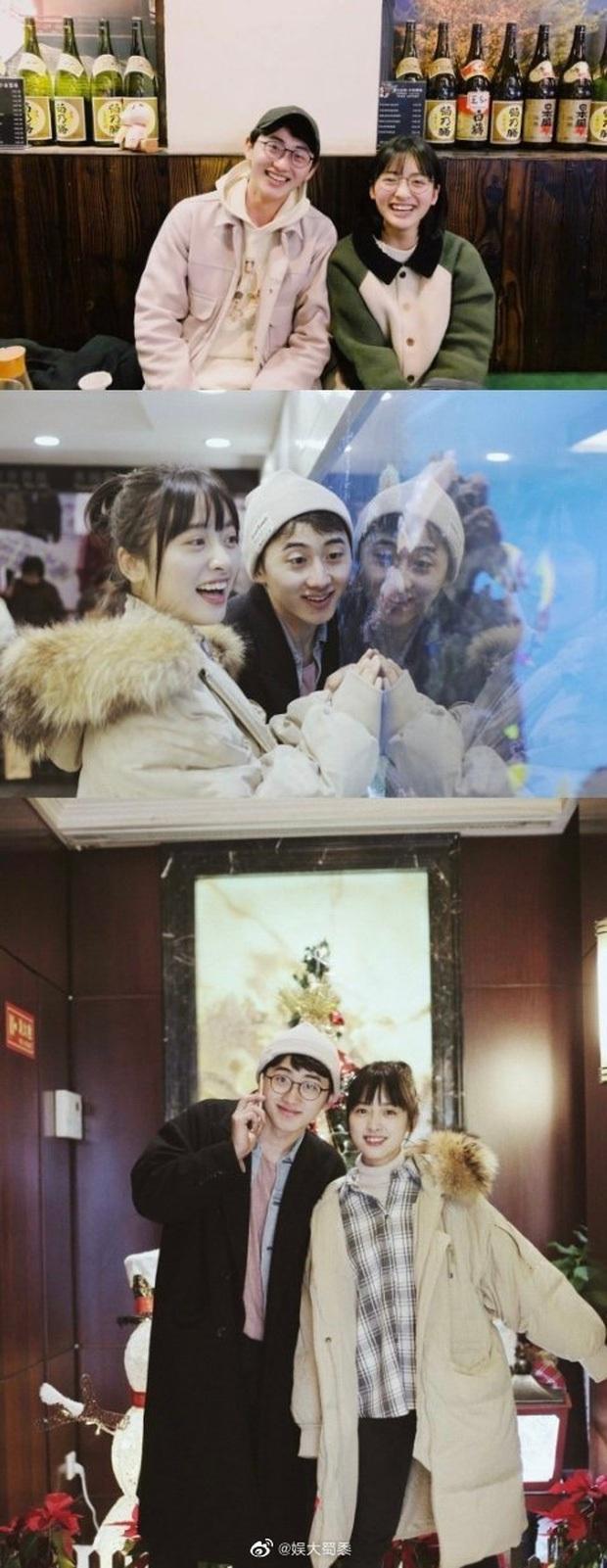 Buổi hẹn hò của Thẩm Nguyệt (Vườn Sao Băng) gây bão Weibo: Không rời bạn trai nửa bước, nũng nịu như em bé khi được bón đồ ăn - Ảnh 9.