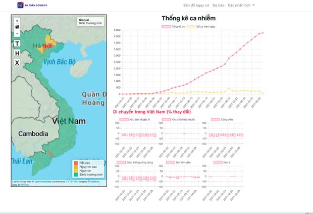 Bộ Y tế công bố bản đồ Covid-19 đầu tiên của Việt Nam: Hiển thị 4 mức nguy cơ, giúp địa phương chống dịch hiệu quả - Ảnh 1.