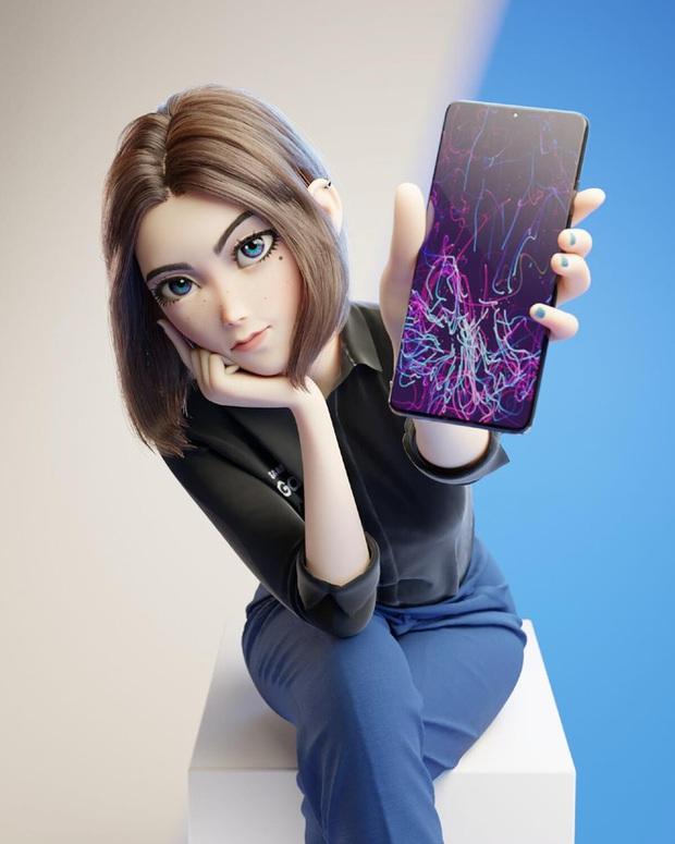 Cộng đồng mạng phát cuồng với hotgirl Sam, nhân vật được cho là trợ lý ảo mới của Samsung - Ảnh 5.