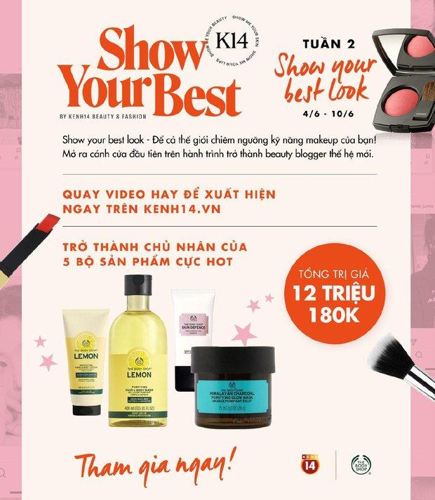 Show Your Best tuần 2: Chẳng cần phép thuật Winx, cứ biến hình cùng makeup, show your best look là nhận ngay quà hot - Ảnh 8.