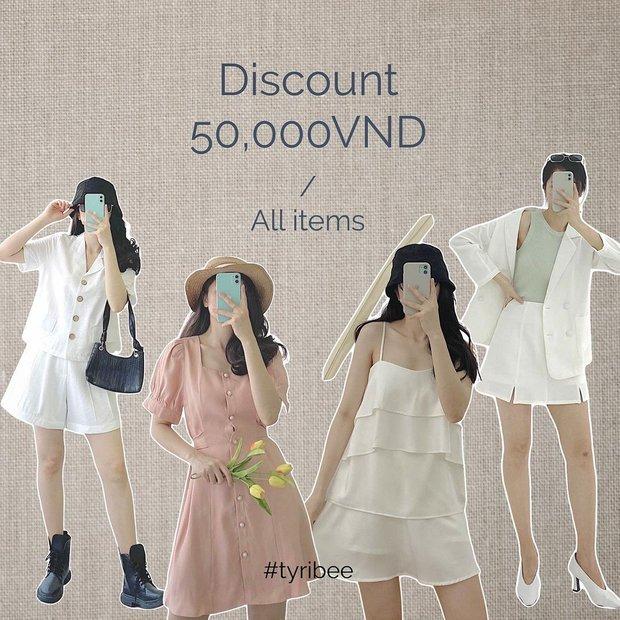 Loạt shop thời trang đang sale hấp dẫn quá: Toàn đồ xinh xẻo trendy giảm đến 60%, mau shopping chị em ơi - Ảnh 17.