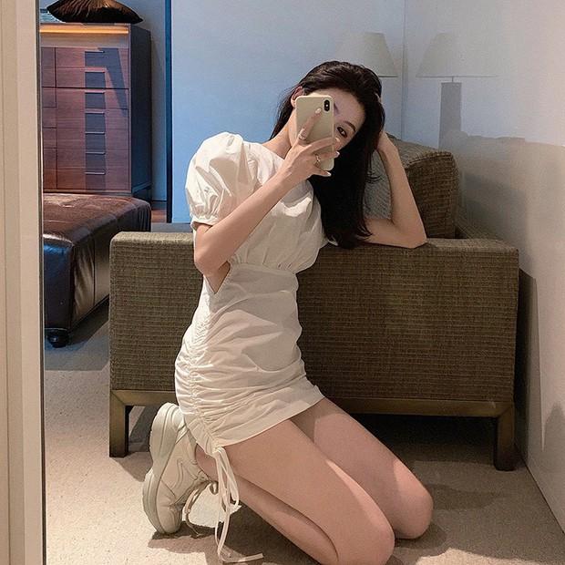 Jennie khoe dáng với váy rút dây giá 8 triệu, các nàng có thể sắm mẫu tương tự với giá rẻ giật mình  - Ảnh 4.