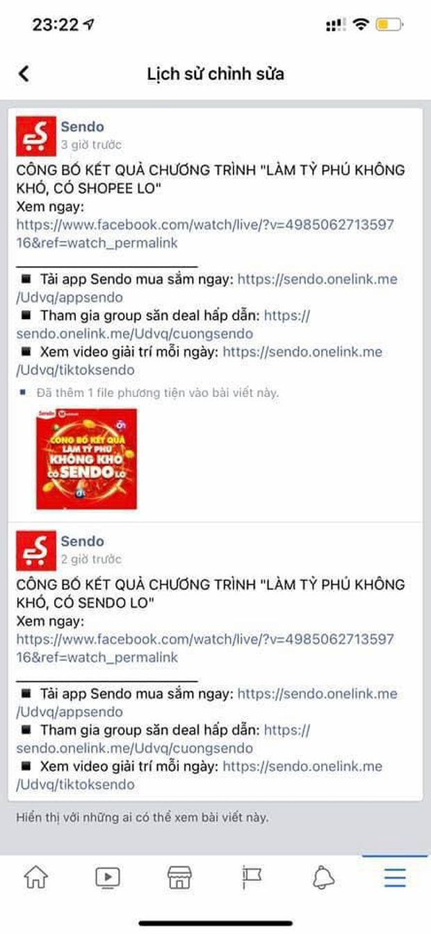 Fanpage Sendo đăng quảng cáo Shopee, cộng đồng được phen cười xỉu, là thuyết âm mưu hay bị lag cực mạnh? - Ảnh 3.