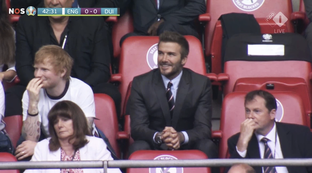 """""""Nội dung"""" hot nhất trận Anh - Đức đêm qua David Beckham: Có bản HD căng đét mời chị em vào """"húp trọn"""" cực phẩm! - Ảnh 2."""