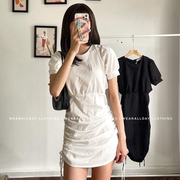 Jennie khoe dáng với váy rút dây giá 8 triệu, các nàng có thể sắm mẫu tương tự với giá rẻ giật mình  - Ảnh 7.