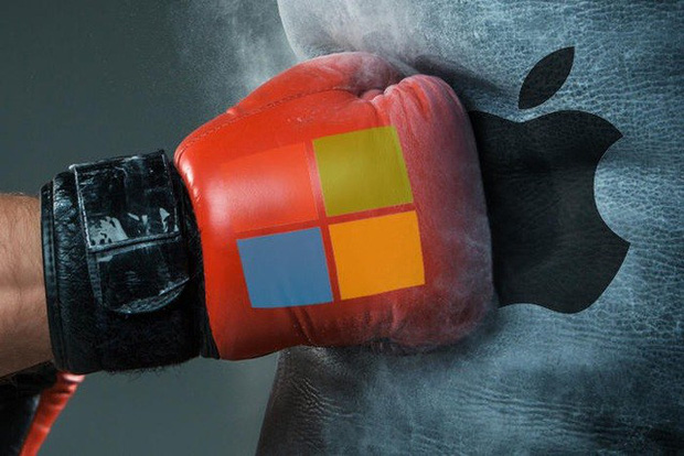 Đại chiến 2 nghìn tỷ USD: Microsoft khiến Tim Cook nổi điên với Windows 11, Facebook và Google cũng tham chiến - Ảnh 1.