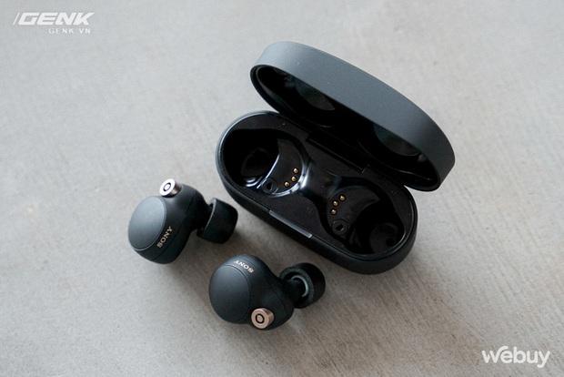 Trên tay Sony WF-1000XM4: Nhỏ gọn, pin trâu, chống ồn đỉnh chóp, giá 6,49 triệu - Ảnh 16.