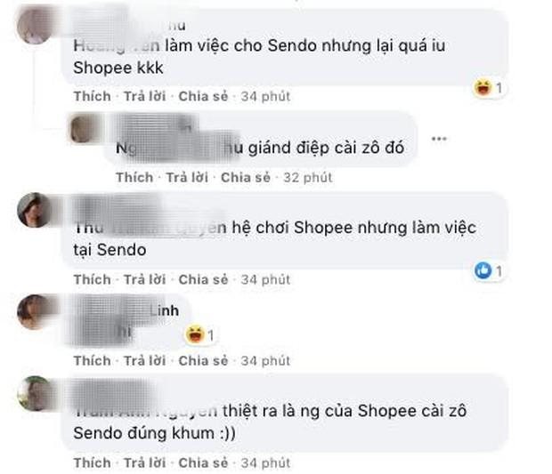Fanpage Sendo đăng quảng cáo Shopee, cộng đồng được phen cười xỉu, là thuyết âm mưu hay bị lag cực mạnh? - Ảnh 5.