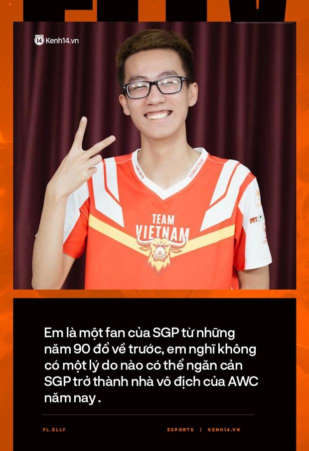 Phỏng vấn Elly: Là fan cứng của Saigon Phantom, không một lý do gì có thể cản SGP vô địch AWC 2021 - Ảnh 7.