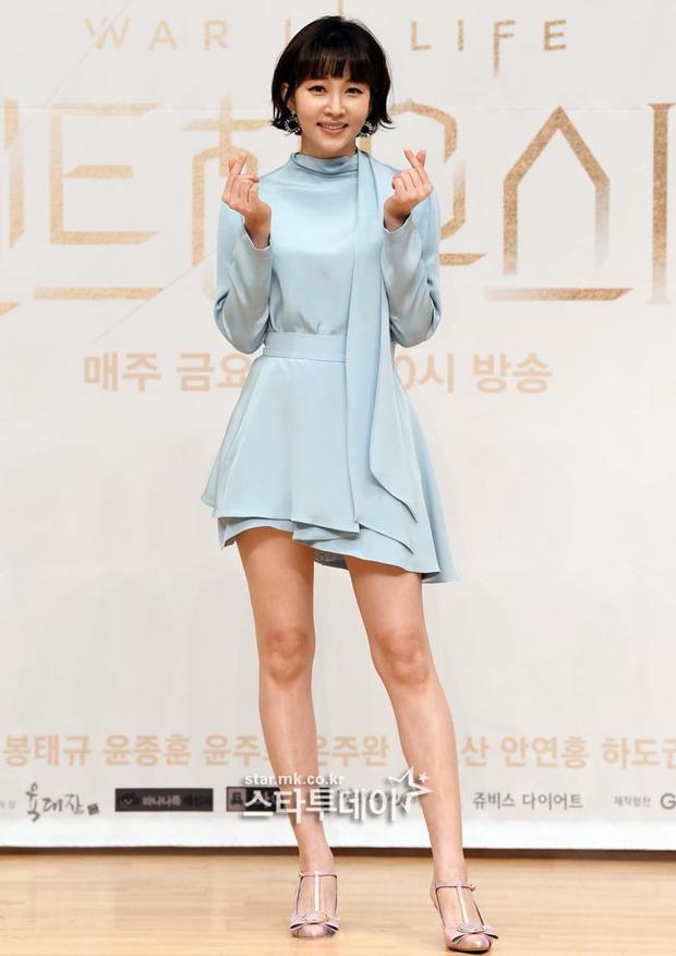 Màn đọ sắc hot nhất họp báo Penthouse 3: Ác nữ Kim So Yeon body mlem, Eugene - Lee Ji Ah tuột dốc, nhưng sao nhí mới là tâm điểm - Ảnh 14.