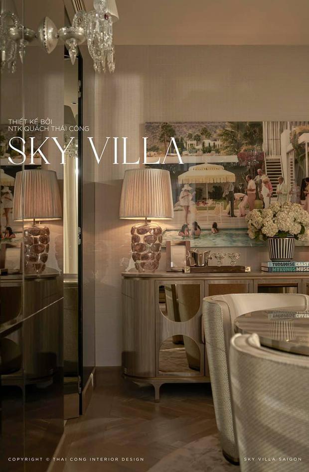 Nữ đại gia ở Sky Villa 200m2, làm nội thất hết 1 triệu đô nói gì về Thái Công? - Ảnh 3.