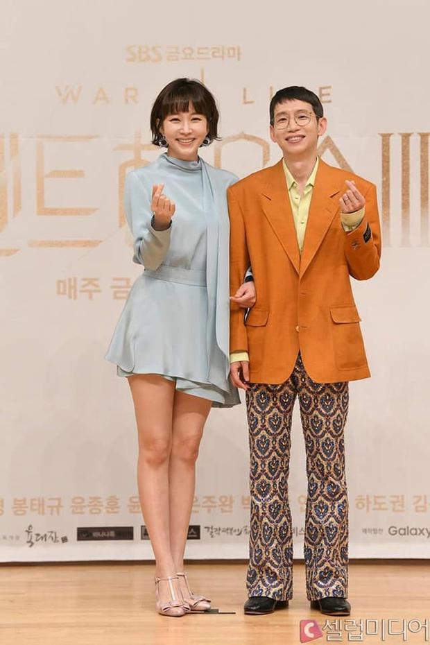 Màn đọ sắc hot nhất họp báo Penthouse 3: Ác nữ Kim So Yeon body mlem, Eugene - Lee Ji Ah tuột dốc, nhưng sao nhí mới là tâm điểm - Ảnh 20.