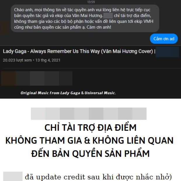 Mâu thuẫn trong phát ngôn của Văn Mai Hương: Tuyên bố đơn vị tổ chức đóng tiền bản quyền, 2 địa điểm đồng loạt phủ nhận - Ảnh 3.