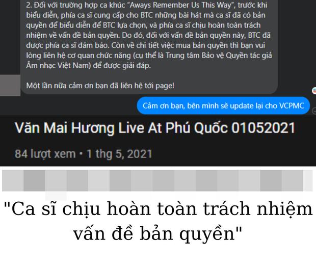 Mâu thuẫn trong phát ngôn của Văn Mai Hương: Tuyên bố đơn vị tổ chức đóng tiền bản quyền, 2 địa điểm đồng loạt phủ nhận - Ảnh 5.