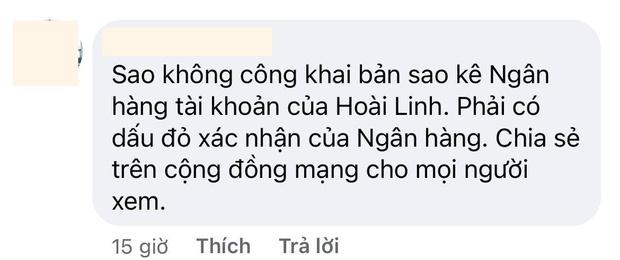 Khán giả đồng loạt yêu cầu NS Hoài Linh làm 1 việc sau khi ekip giải ngân xong 15,2 tỷ đồng quỹ cứu trợ miền Trung - Ảnh 4.