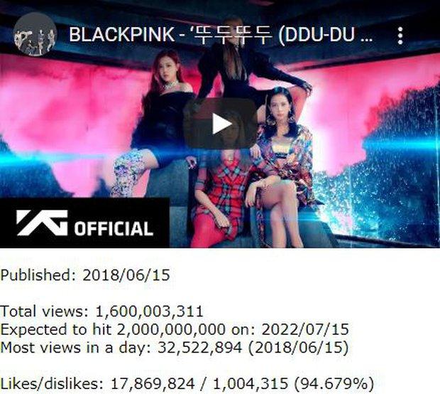Gần kỉ niệm 3 năm, siêu hit của BLACKPINK đạt cột mốc khủng nhưng liệu có đạt 2 tỉ view vào sinh nhật lần 4? - Ảnh 3.