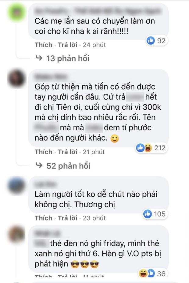 Netizen bất ngờ bênh vực Thuỷ Tiên sau khi nữ ca sĩ trả lại 30 triệu, đổi hướng chỉ trích vị khán giả gửi nhầm? - Ảnh 6.