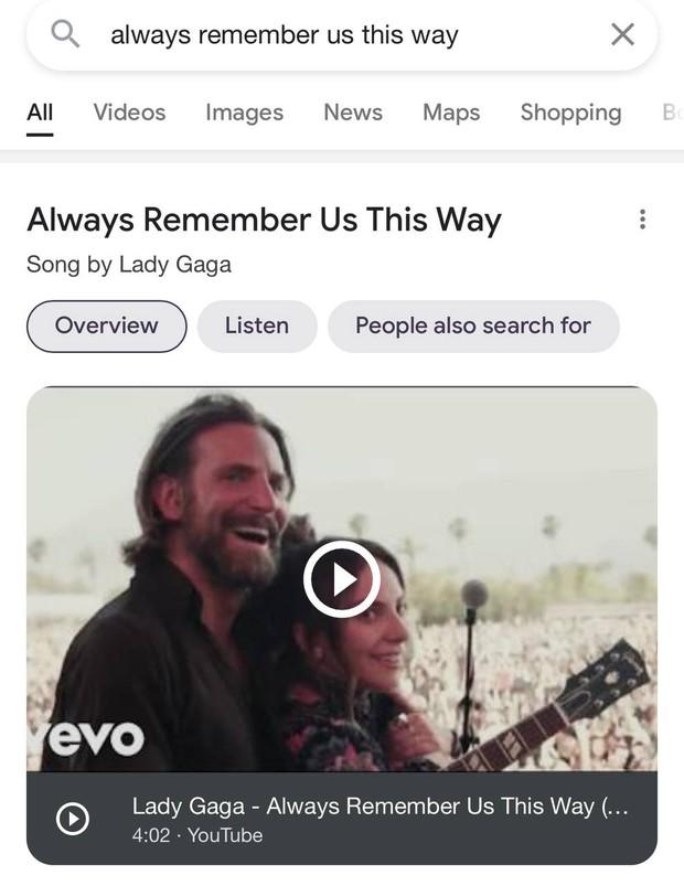 Góc đắng lòng: Gõ tìm kiếm Always Remember Us This Way không ra Lady Gaga mà lại hiển thị Văn Mai Hương cơ! - Ảnh 6.