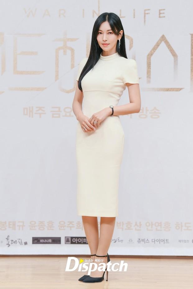 Màn đọ sắc hot nhất họp báo Penthouse 3: Ác nữ Kim So Yeon body mlem, Eugene - Lee Ji Ah tuột dốc, nhưng sao nhí mới là tâm điểm - Ảnh 3.