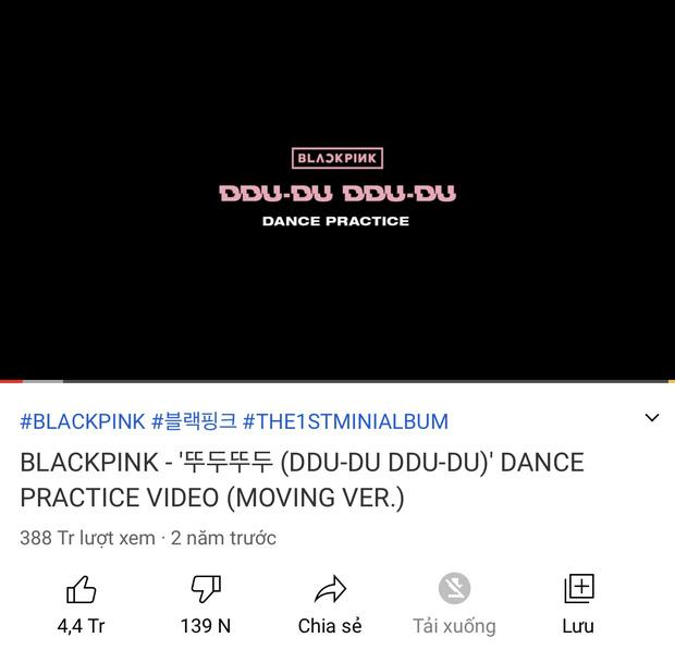Top 5 video Dance Kpop nhiều like nhất YouTube, BLACKPINK chiếm sóng tới 4 video, vị trí còn lại thuộc về ai? - Ảnh 4.