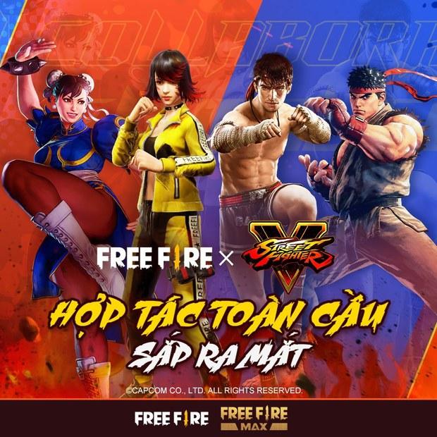 Hai nhân vật huyền thoại của Street Fighter bất ngờ xuất hiện trong Free Fire, liệu sẽ có màn đối kháng đỉnh cao? - Ảnh 2.