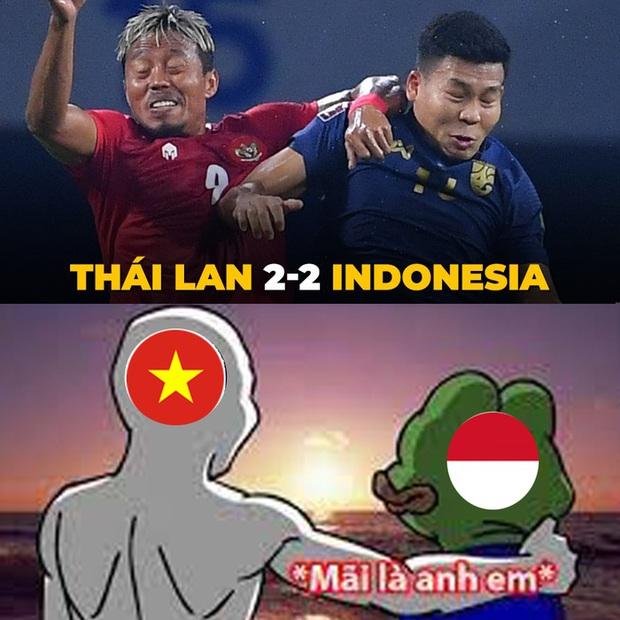 Fan Việt Nam chế loạt ảnh cà khịa Thái Lan sau trận đấu với Indonesia - Ảnh 1.