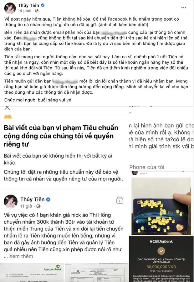 Netizen bất ngờ bênh vực Thuỷ Tiên sau khi nữ ca sĩ trả lại 30 triệu, đổi hướng chỉ trích vị khán giả gửi nhầm? - Ảnh 2.