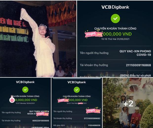 Độc quyền: Vy Oanh tung bằng chứng đập tan nghi vấn làm giả ảnh từ thiện, phẫn nộ vì có kẻ report Facebook và đánh cắp số điện thoại - Ảnh 5.