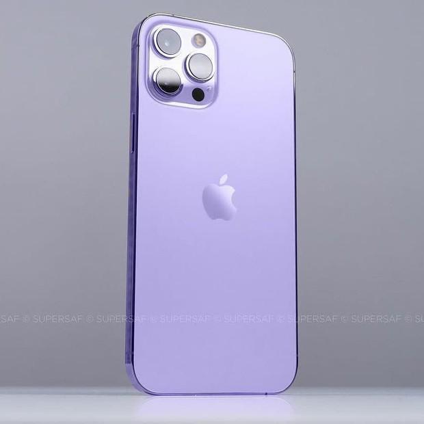 Xuất hiện concept iPhone 13 màu tím đẹp lịm tim, cộng đồng mạng đợi ngày xuống tiền thôi! - Ảnh 3.