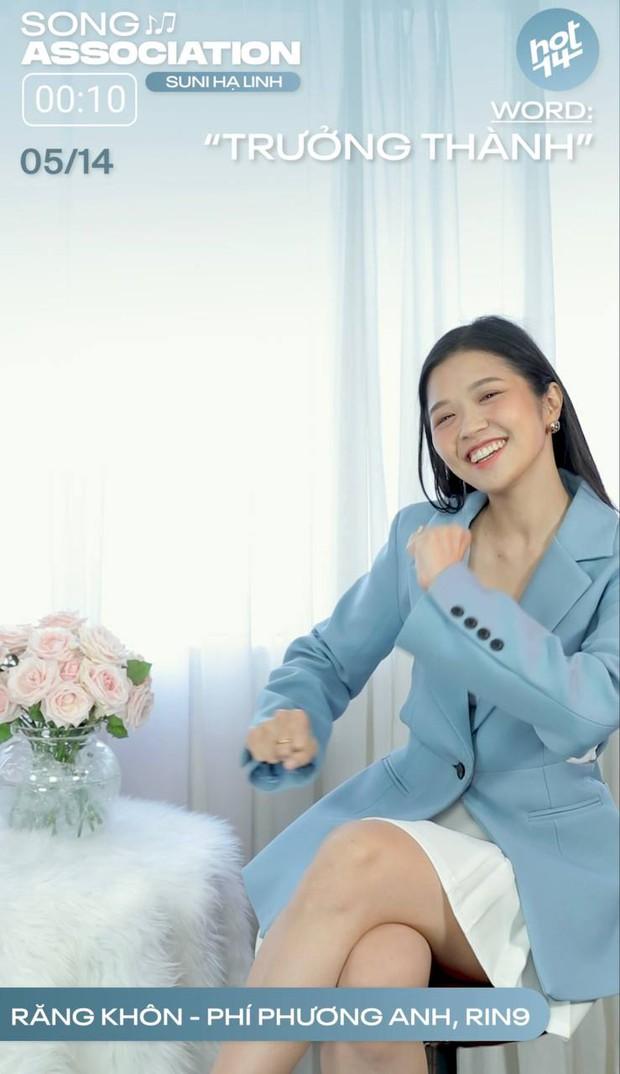Suni Hạ Linh cover siêu đáng yêu hit Phí Phương Anh, không chùn bước khi chạm trán bài hát US-UK - Ảnh 7.