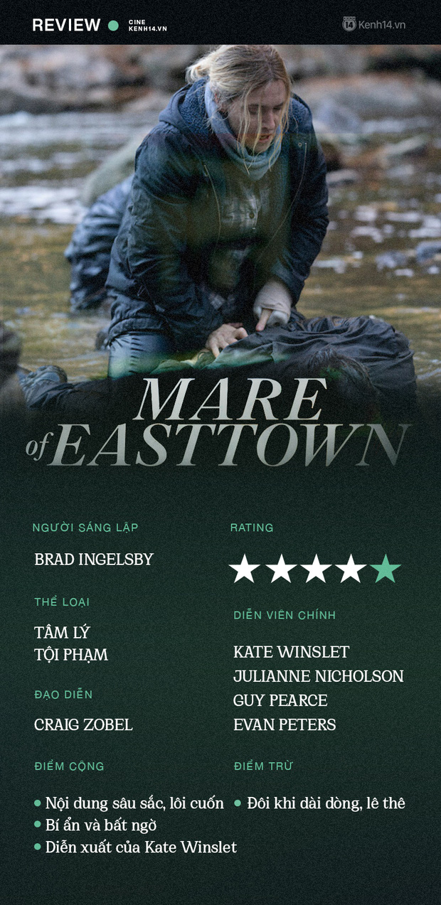 Mare of Easttown: Bóng hồng Titanic lần nữa mang lại nỗi đau xé lòng từ bí ẩn án mạng bi thương - Ảnh 14.