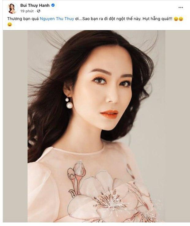 Lệ Quyên, Thúy Hạnh và dàn sao Việt bàng hoàng xót xa khi nghe tin Hoa hậu Thu Thuỷ đột ngột qua đời - Ảnh 2.