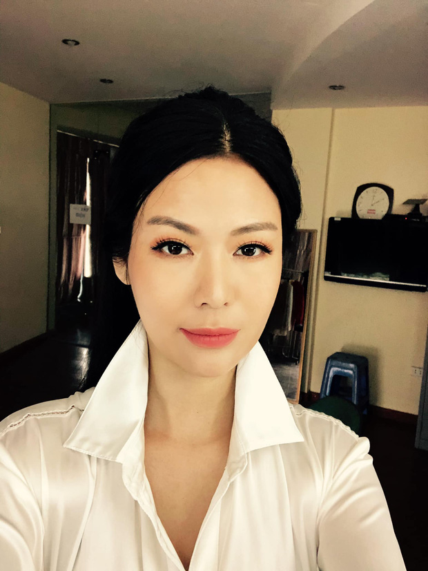 Nhan sắc trẻ trung xinh đẹp của Nguyễn Thu Thuỷ ở tuổi 45 khiến ai nấy đều xuýt xoa, đẳng cấp Hoa hậu Việt Nam có khác!  - Ảnh 5.