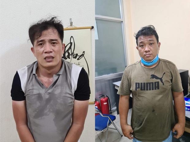 Hai thanh niên vừa ra tù vẫn đi cướp giật hơn 10 vụ ở Sài Gòn - Ảnh 1.