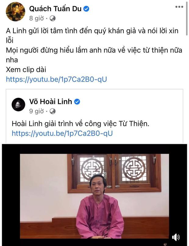 Cát Phượng bật khóc, con trai và dàn sao đồng loạt đăng status sau khi NS Hoài Linh trần tình lùm xùm 15,4 tỷ từ thiện - Ảnh 6.