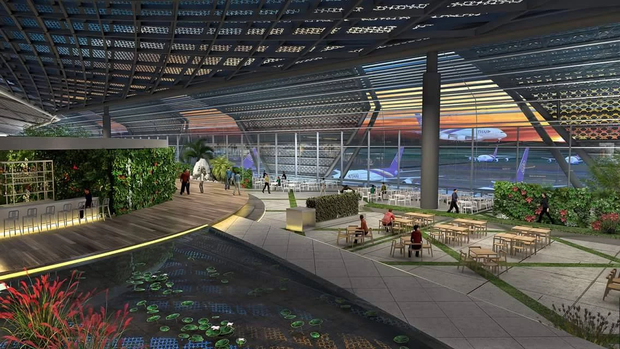 Tranh thủ vắng khách du lịch - Thái Lan âm thầm cải tạo sân bay Bangkok đẹp đến choáng ngợp, tuyên bố sánh ngang với Singapore! - Ảnh 4.