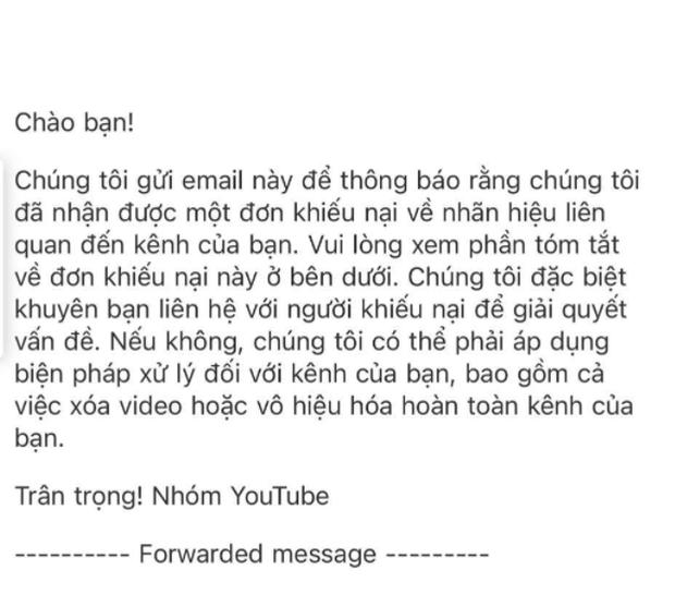 SỐC: ANH EM TAM MAO bị bên khác đăng ký bản quyền, kênh YouTube triệu lượt đăng ký sẽ bị đánh sập trong 1 nốt nhạc?  - Ảnh 2.