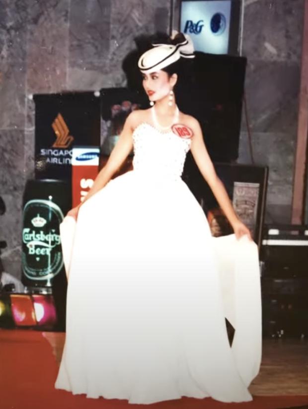 Loạt ảnh hiếm năm 18 tuổi của Hoa hậu Nguyễn Thu Thuỷ lúc đăng quang Hoa hậu Việt Nam, nhan sắc bất bại khó ai sánh bằng - Ảnh 5.