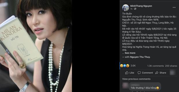 Hé lộ thông tin nghi vấn về nguyên nhân Hoa hậu Nguyễn Thu Thuỷ qua đời - Ảnh 5.